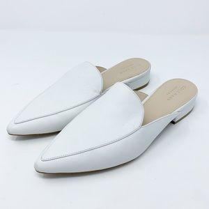 Cole Haan Piper Loafer Mule White Leather 7.5